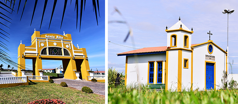 Trapiche Miramar, Capela Santa Rita, construções portuguesas, arquitetura portuguesa